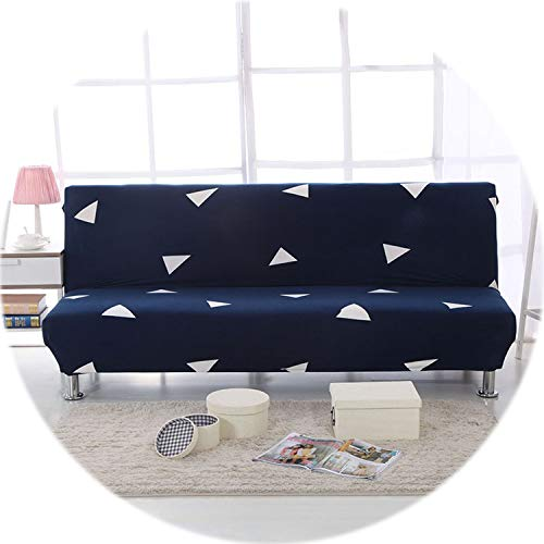 Secret-shop Spandex Sofa Bed Cover Stretch No armrests Tight Wrap Sofa Cover for Living Room Soft Slipcovers Elastic Couch Cover cubre Sofa,Color 21,160-190cm (Sectional Toronto Couch)