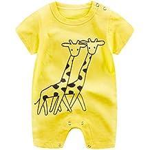 Boomboom Baby's Clothes Set, Newborn Unisex Baby Cartoon Romper Climbing Clothes