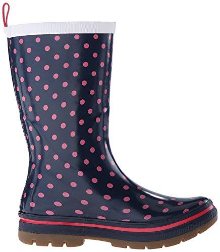 Helly Hansen Womens Midsund 2 Rain Boot Grafico Sera Blu / Magenta / Bianco Sporco
