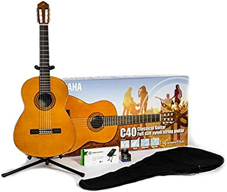 Yamaha C40 Performance Pack: Amazon.es: Instrumentos musicales