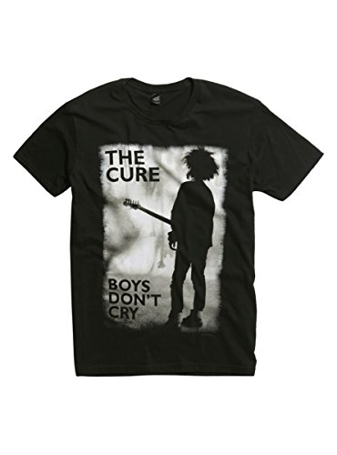 Hot Topic The Cure Boys Don't Cry T-Shirt Black