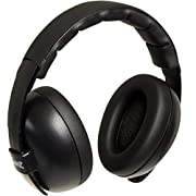 Baby Banz Infant Hearing Protection Sound Blocking Earmuffs (Black)