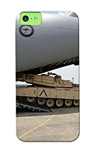 694b1425755 Tough Iphone 5c Case Cover/ Case For Iphone 5c(m1a1 Abrams Tank Weapon Military Tanks Soldierfw ) / New Year's Day's Gift