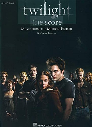 Twilight - The Score: Music from the Motion Picture - Twilight Piano Sheet Music