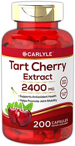 Carlyle Tart Cherry Extract 2400 mg 200 Capsules