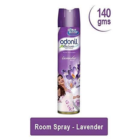 Odonil Room Spray Home Freshener -140g (Lavendar)