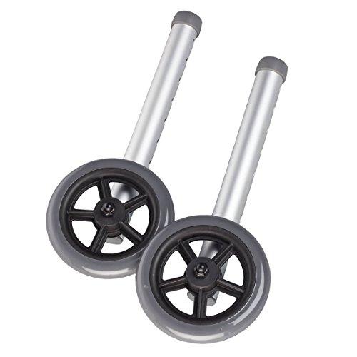 Walker Wheels 5'' Set of 2 by Easy Comforrts