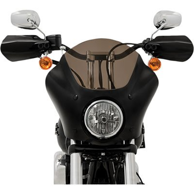 MEMPHIS SHADES HD MEB7215 Black Handguard for Harley-Davidson Dyna/FLHR/FXST/FLST/XL
