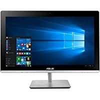 Asus Touchscreen V230ICUT All-In-One Desktop, Intel Core i5-6400T, 2.6 GHz, 1 TB, Windows 8, Gray, 23 (Certified Refurbished)