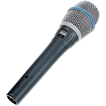 Shure BETA87C Cardioid Condenser Microphone for Handheld Vocal Applications