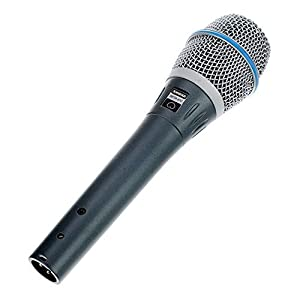 Shure BETA87C Cardioid Condenser Microphone for Handheld Vocal Applications,Gray