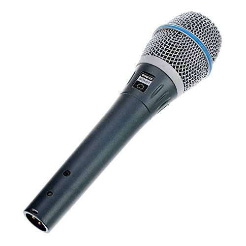 Shure BETA87C Cardioid Condenser Microphone for Handheld Vocal Applications ()