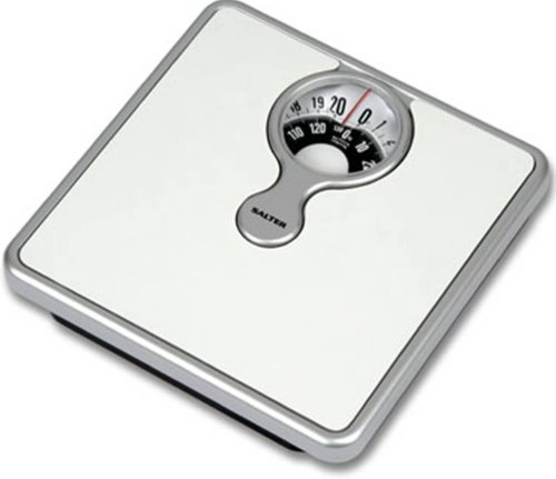 Salter Body Fat - Salter Magnified Display Mechanical Bathroom Scales