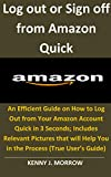 Log out or Sign off from Amazon Quick