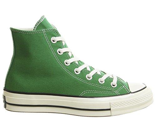 Converse Mixte Adulte Chuck Taylor 70 Chaussures De Sport Hi, Multicolore (vert / Noir Aigrette 302)