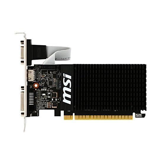 MSI Computer Video Card GT 710 2GD3H LP 41DhqaWOizL. SS555