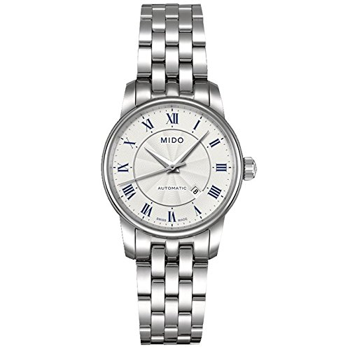 MIDO Baroncelli Lady Automatic Swiss Watch White M76004211