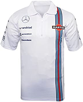 Williams Martini Racing - Polo de F1, réplica de la camiseta ...