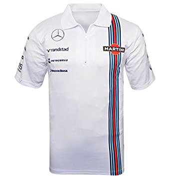 Williams Martini Racing - Polo de F1, réplica de la camiseta ...