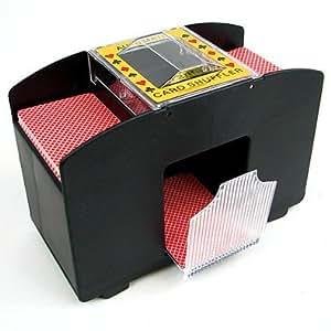 Laser Sports Casino Deluxe Automatic 4 Deck Card Shuffler