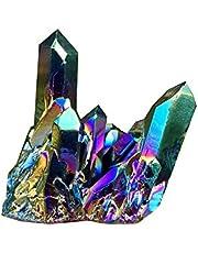 Jewellery Irregular Natural Colorful Rainbow Quartz Crystal Cluster Crystal Ore Rock Minerals Geode Specimen Home Decor Specimen