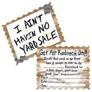Amazon Com Redneck Wedding Party Invitations 24 With Envelopes