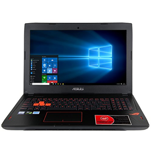 "CUK ASUS ROG GL502 ROG Gamer Laptop (Intel Quad Core i7-6700HQ, 24GB RAM, 500GB SSD + 1TB HDD, NVIDIA GTX 1060 6GB, 15.6"" Full HD, Windows 10) - VR Ready Pascal Gaming Notebook Laptop Computer"