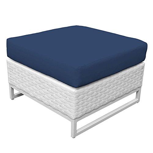 TK Classics TKC047b-O-NAVY Miami Seating Patio Furniture, Navy (Furniture Miami Cheap)