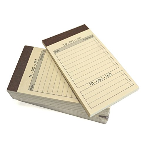 Refill Note Pop (Royce Leather, Refill Pack of 10, To-Do List, Jotter Notepads)
