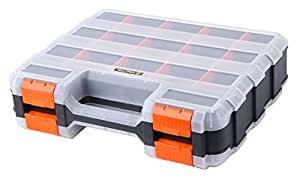 Tactix Organizer 15 Compartment Double Side