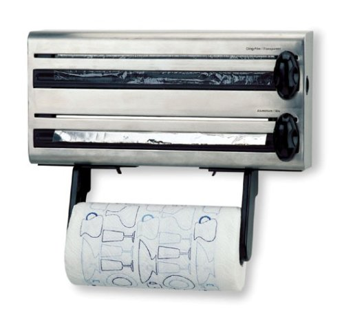 Amazon.com: LACOR 60701 MULTIROLL DISPENSER FOR KITCHEN ST.STEEL: Kitchen & Dining