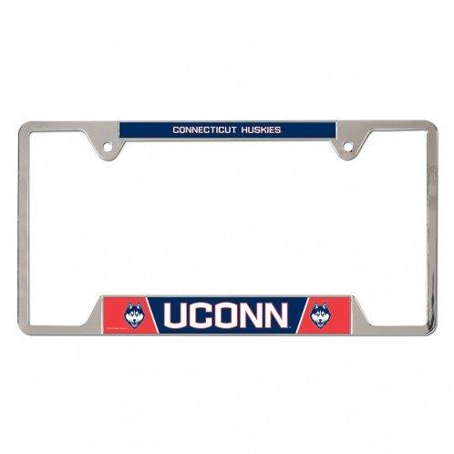 Uconn Connecticut Huskies Metal License Plate Frame