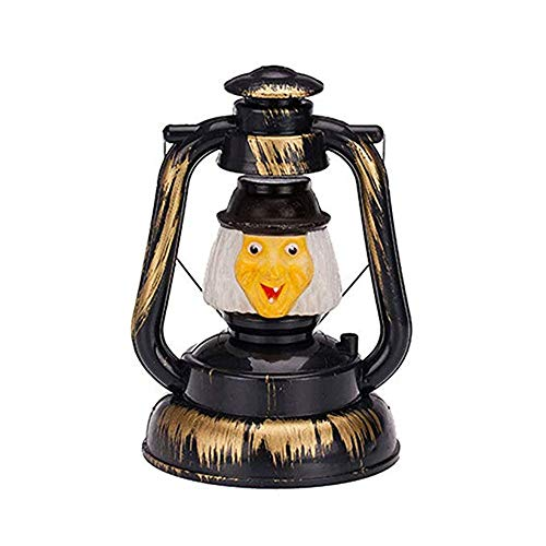 (Halloween Lantern Party Witch 2 Pack,SIX-SEVEN Lamp Ghost Night Light LED with Horrible Voice Halloween Decoration kids)
