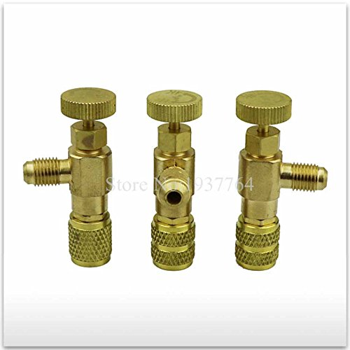 MONNY 3pcs/set Air conditioning fluorine joi R410 R22 Refrigeration Air conditioning Valve Safety Adapter