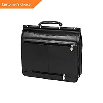 Amazon.com: Sandover McKlein Halsted Leather 15 Laptop Case 2 Colors Non-Wheeled Business Case | Model LGGG - 5637 |