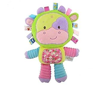 Sun Glower Edredón Juguetes Algodón Toalla Mano marioneta Felpa Vaca Juguete_Color: Amazon.es: Juguetes y juegos