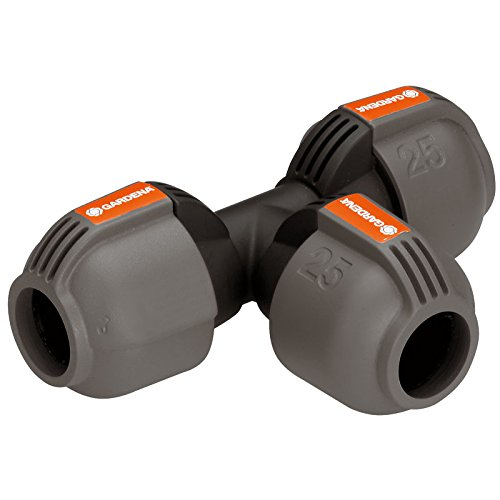 GARDENA 2771-U T-Piece Connector 25mm -Sprinkler System Pro