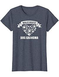 World's Greatest Dog Grandma Fur Babies Paws T Shirt