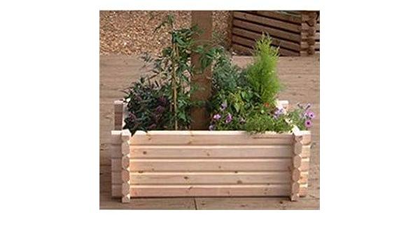 Plantador de madera fácil construir alrededor del árbol ...