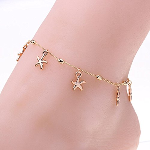 DKmagic Women's Fashion Beach Foot Chain Anklets Beads Bracelet ()