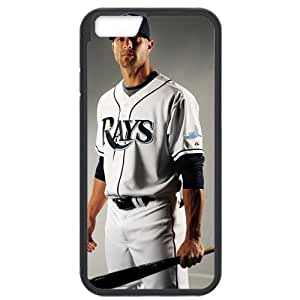 MLB iPhone6 Black Tampa Bay Devil Rays cell phone cases&Gift Holiday&Christmas Gifts NBGH6C9124731
