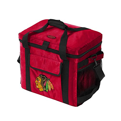 NHL Chicago Blackhawks Glacier Cooler, One Size, Multicolor by Logo Brands