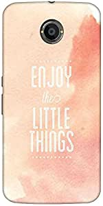 Snoogg Enjoy The Little Things Designer Protective Back Case Cover For Google...