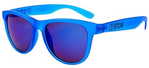 STUN Prime Swell Wayfarer Sunglasses (Frosted Blue) Unisex - Swell Glasses