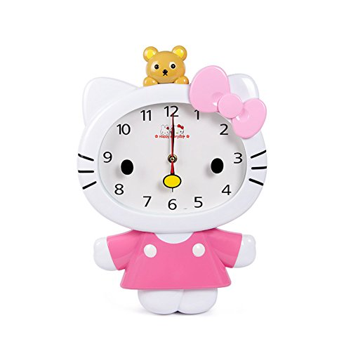 Hello Kitty Girl's Wall Clock (Pink)