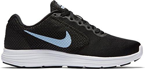 negro para Mujer 3 Nike Wmns para Correr Revolution Zapatos nOPU08xqIw