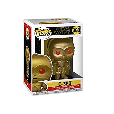 Funko Pop! Star Wars: Rise of The Skywalker - C-3PO (Red Eyes): Toys & Games