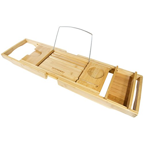 Bamboo Bathtub Collapsible Removable Accessories