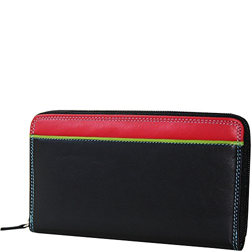 belarno-zip-clutch-black-rainbow-combination