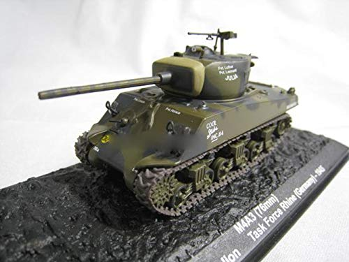 WWII USA Task Force Rhine M4A3 1/72 DIECAST Model Finished Tank